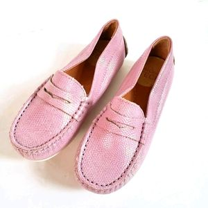 NWOT Umi Meesa Loafers Pink Slip On Toddler Shoes